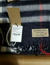 Burberry Cashmere Scarf, Brand new with tags & Gift Box Genuine RRP £370 Unisex