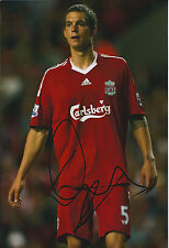Daniel AGGER Signed Autograph Photo AFTAL COA Liverpool Premier League Genuine