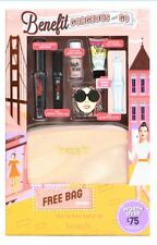 BENEFIT GORGEOUS AND GO GIFT SET OVER £75 FREE VOUCHER & BAG - GIFT WRAPPED BNIB