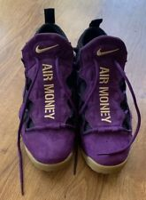 Men's Nike Air Money Purple/Metallic Gold-Black Size 9.5 US