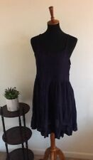 Women's Beach Dress by exist Size Small Color Navy
