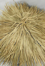 "30"" Round Mexican Palm Thatch Hipcap Cover Tiki Hut"