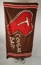 Be As You Are Cougar Bait Beach Bath Towel T-Bone Steak Fresh Meat Brown Red NEW