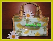 AVON NATURALS TROPICAL COSMETIC TOTE BAG NEW