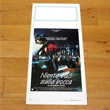 NIENTE BACI SULLA BOCCA locandina poster Philippe Noiret Emmanuelle Béart AM90