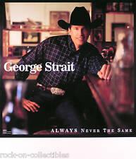 GEORGE STRAIT 1999 ALWAYS NEVER THE SAME ORIGINAL TOUR POSTER