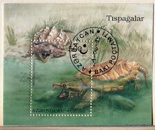AZERBAIYÁN Colección hoja en el TORTUGAS de mar 14M1