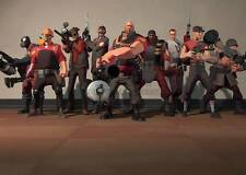 XBOX ONE PS3 PS4 PC GAME TEAM FORTRESS (2) A3 ART PRINT POSTER GZ5632