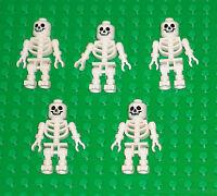 LEGO Minifigures Lot 5 Skeletons Guys Toys Lego Minifigs People Pirates Skulls