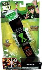 Bandai 100% Authentic Ben 10 Ten Omniverse OMNITRIX A.I. Lights & Sounds Watch