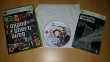 Grand Theft Auto GTA IV 4 Xbox 360 German PAL komplett complete