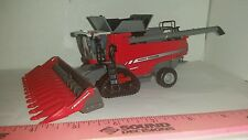 1/64 ertl farm toy custom agco massey Ferguson 9545 high detail combine & tracks