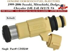 1 Fuel Injector OEM BOSCH for  2000-2005 Mitsubishi Eclipse 2.4L I4