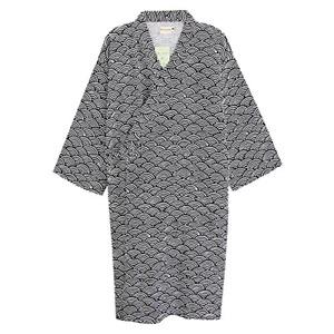 Cotton Kimono Robe Wrap Women Men Bathrobe Dressing Gown Pajamas Yukata Loose up