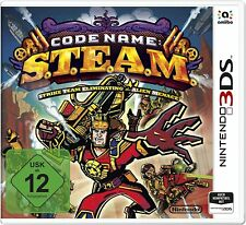 NINTENDO 3ds Juego Code Name Steam - S. T. E. A.M. 2ds