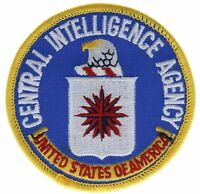 CIA Central Intelligence Agency Embroidered Patch F1D8F
