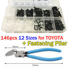 146X FENDER TRIM CLIP DOOR HOOD BUMPER BODY RETAINER FOR TOYOTA FASTENING PLIER