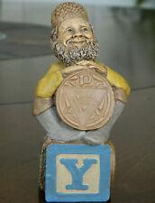 "*Edition #1 Tom Clark Alphabet Letter Block Gnome ""Y"" (Ymca)1994"