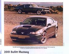 2001 Ford Mustang Bullitt 4.6 Liter Info/Specs/photo/price production 11x8
