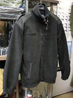 Blouson noir en fibres polaire taille S neuf nouvelle version