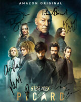 8.5x11 Autographed Signed Reprint RP Photo Star Trek The Future Begins Cast