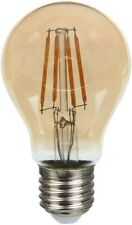 4W Amber GLS LED Filament Lamp E27 Extra Warm White  Extremely long life
