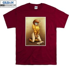 Naughty Velma Dinkley Scooby-Doo T-shirt T shirt Men Women Unisex Tshirt 771