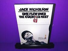 One Flew Over the Cuckoos Nest (DVD, 1997) Jack Nicholson B532