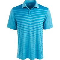 Greg Norman Mens Shirt Blue Size Small S Polo UPF 50+ Moisture-Wicking $55 089