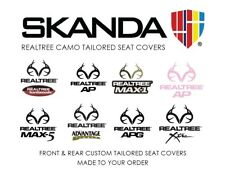 Coverking Realtree Skanda Camo Front & Rear Seat Covers for GMC Sierra