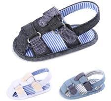 Infant Baby Boy Soft Pram Shoes Toddler Pre Walker Summer Sandals Newborn to 18M