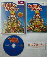 LITTLE KINGS STORY (Wii) & U -HELP KING COROBO BUILD+DIG+FIGHT+SMASH UMA=VGC✔