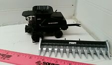 1/64 ertl custom agco allis gleaner super 7 stealth combine w/corn head farm toy