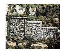 Woodland Scenics C1261 Retaining Walls 3 Random Stone Sections1:87 - HO Gauge