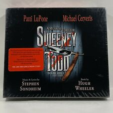 Sweeney Todd - Broadway Musical CD Deluxe w/ Booklet SEALED Promo