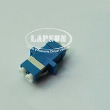 10PCS LC to LC /PC Singlemode Duplex Fiber Optic Adapter Connector LC-LC Coupler