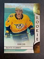 2019-20 Upper Deck Artifacts Rookie Copper Parallel #166 Dante Fabbro RC 34/299