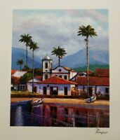"Alex Pauker ""Reflections"" Seriolithograph in Color on Paper, Signed, COA"