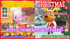 Animal Crossing:New Horizon All NEW Christmas and Thanksgiving Update 1.6 + DIY