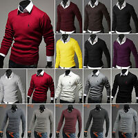 Stylish Men's Slim Fit Knitwear Pullover Cardigan Sweater Jacket Coat Jumper Top