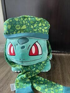 Pokemon Bulbasaur Build-a-Bear Plush collector item With Scarf And Hat