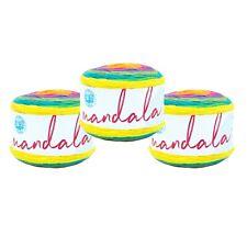 Lion Brand Yarn 525-209 Mandala Yarn, Gnome (Pack of 3 cakes)