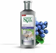 NATUR VITAL  SILVER WHITE AND GREY HAIR SHAMPOO 300 ML