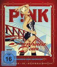 "PINK ""FUNHOUSE TOUR LIVE IN AUSTRALIA"" BLU RAY NEU"