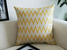 "NEW 18"" Vintage Cotton Linen Cushion Cover Home Decor Decorative pillow case 021"