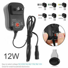 Universal Adjustable AC/DC Power Adapter 5V 6V 9V 12V Power Supply Plug Charger