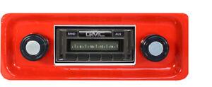 1967 68 69 70 71 72 GMC Truck USA 230 Radio New AM/FM MP3 Aux Imput
