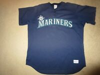 Seattle Mariners #12 MLB Batting Practice Game Worn Used majestic Jersey