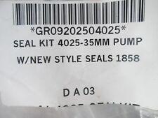 Seal Kit for 4025-35MM Jetting Pump Rebuild Repair O-Ring Anti Ex Ring Packing