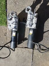 Invacare  Motors  PAIR 24v Good Working Order with fittings  #